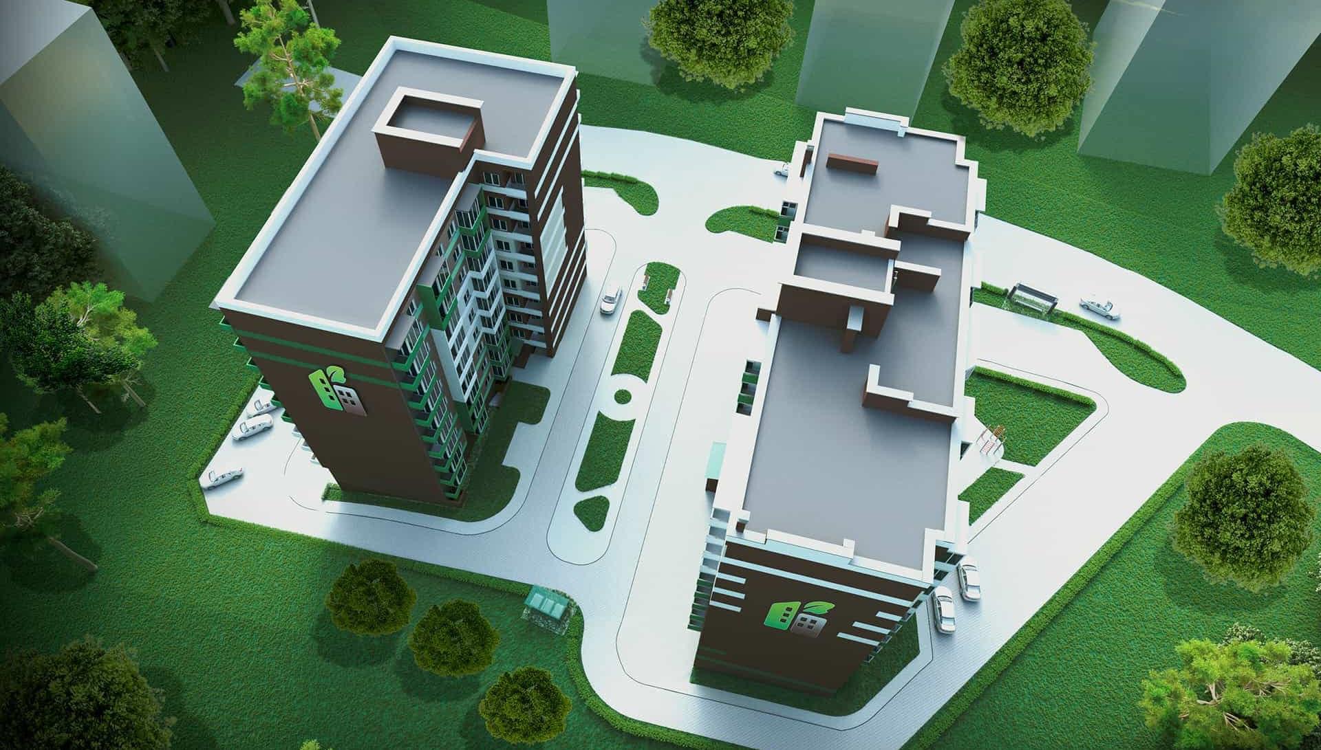 Відеозвіт з будівництва ЖК Eco House від 9.07.2020