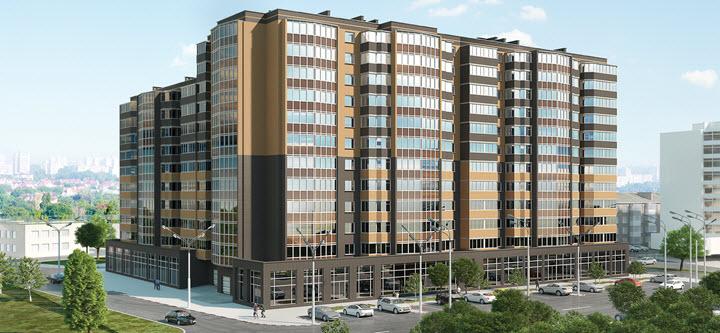 Відеозвіт про будівництво житлового комплексу Грандбуд в Миколаєві за липень 2019