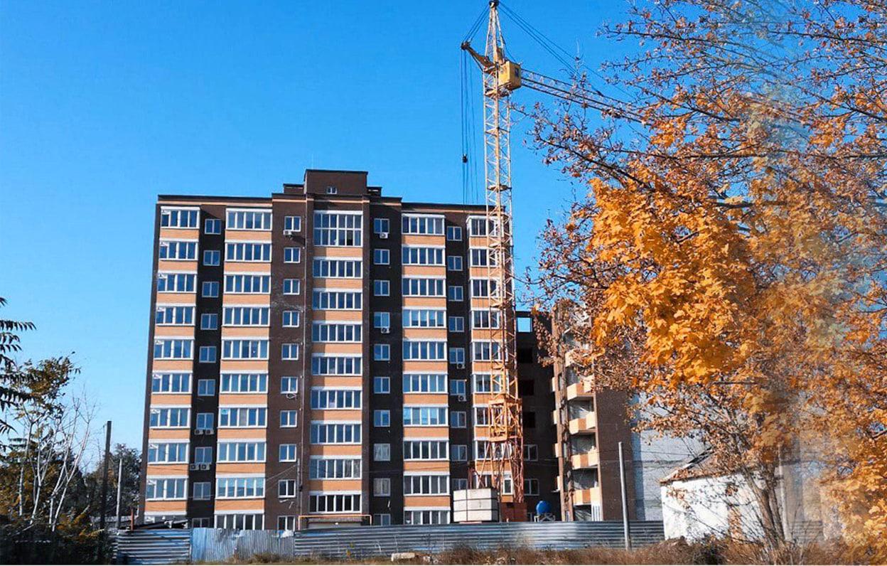 Відеозвіт про будівництво житлового комплексу For-Rest за листопад 2019