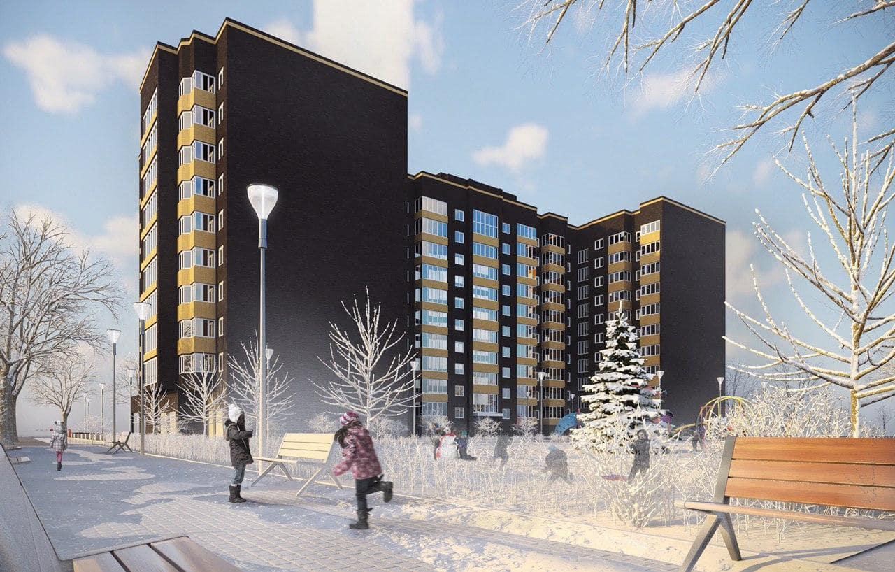Відеозвіт про будівництво житлового комплексу For-Rest за січень 2020